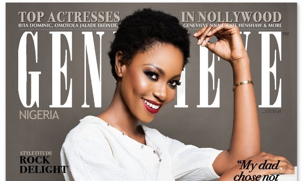 Yvonne Nelson Genevieve Magazine July 2015 LoveweddingsNG feat