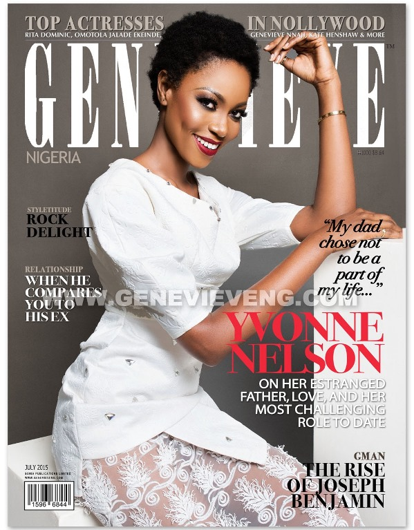 Yvonne Nelson Genevieve Magazine July 2015 LoveweddingsNG1