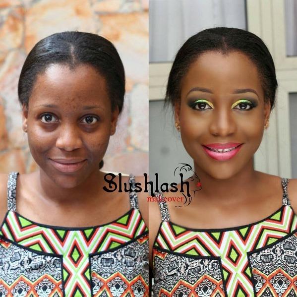 Before meets After - Slushlash Makeovers LoveweddingsNG