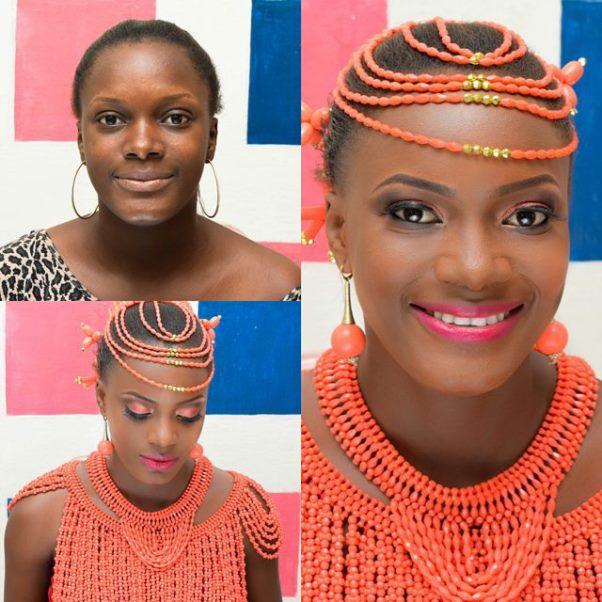 LoveweddingsNG Before and After - Bella Divas Warri