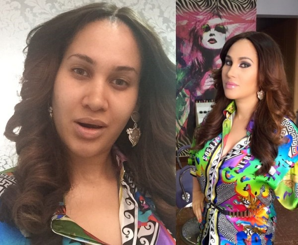 LoveweddingsNG Before and After - Caroline Danjuma