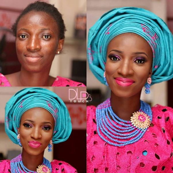 LoveweddingsNG Before and After - DLPsTouch