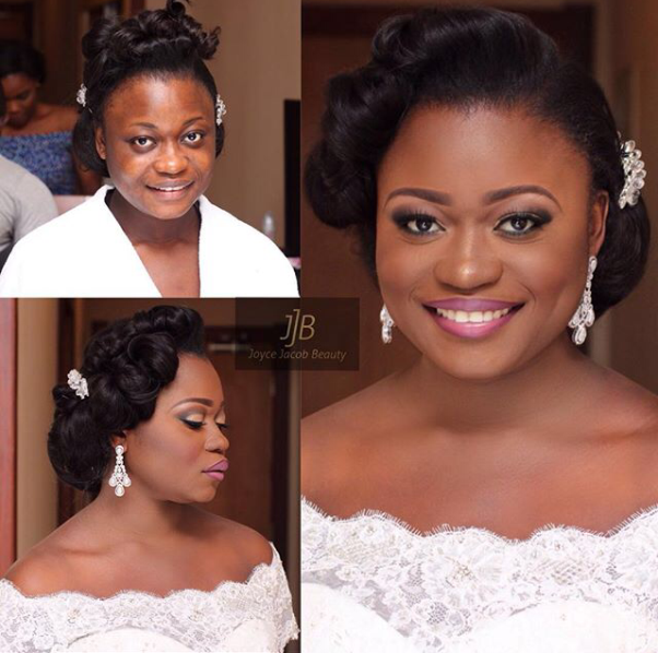 LoveweddingsNG Before and After - Joyce Jacob Beauty