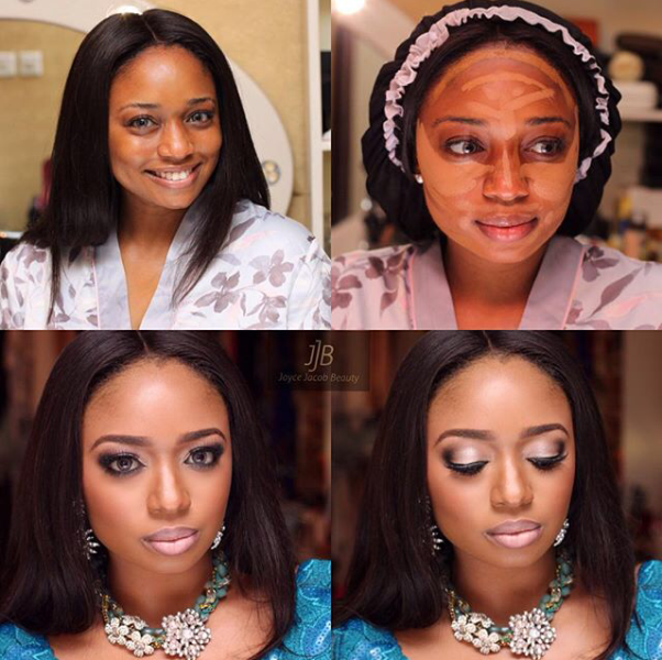 LoveweddingsNG Before and After - Joyce Jacob Beauty2