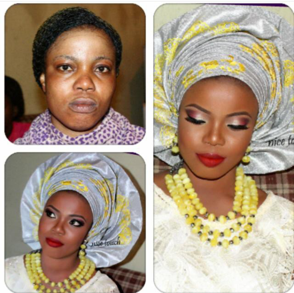 LoveweddingsNG Before and After - Nice Touch