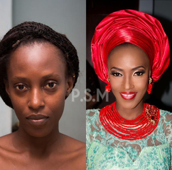 LoveweddingsNG Before and After - ProSpotted Makeover