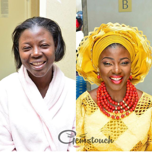 LoveweddingsNG Before meets After - Gemstouch