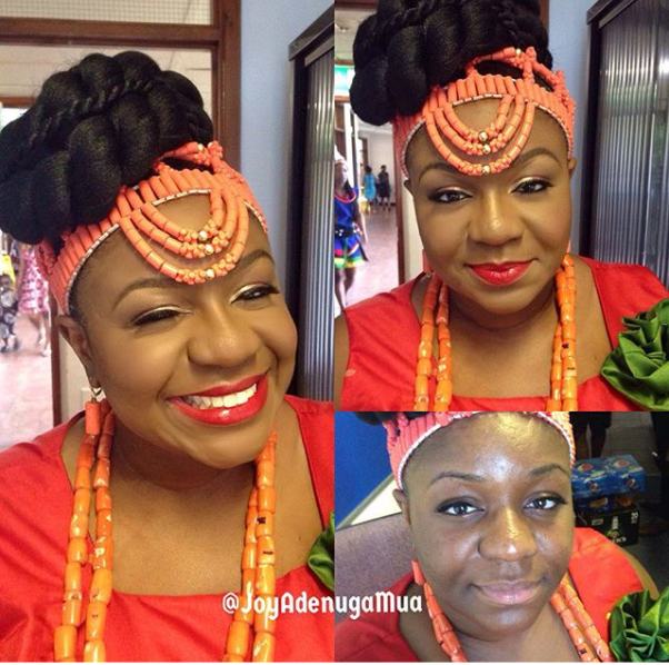 LoveweddingsNG Before meets After - Joy Adenuga MUA