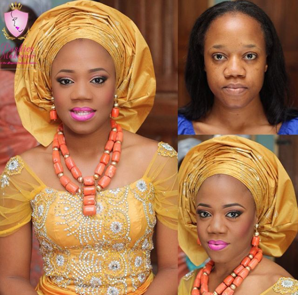 LoveweddingsNG Before meets After - Pushies Makeover