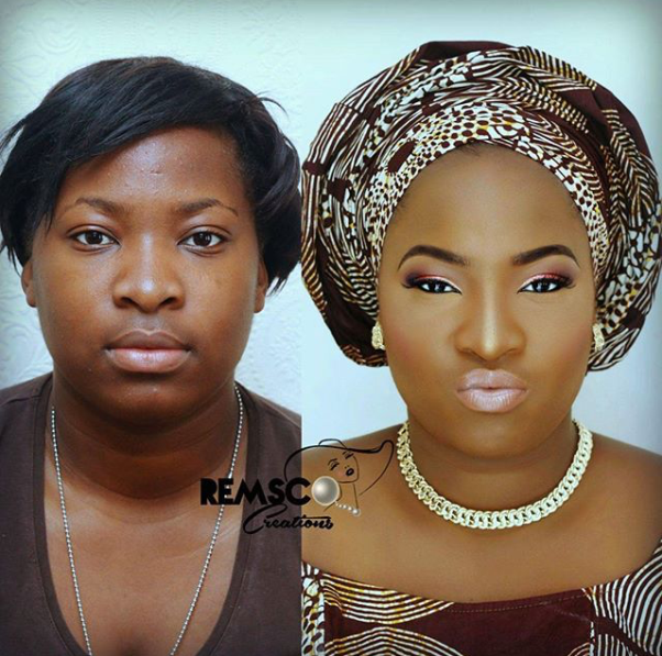 LoveweddingsNG Before meets After - Remsco Creations
