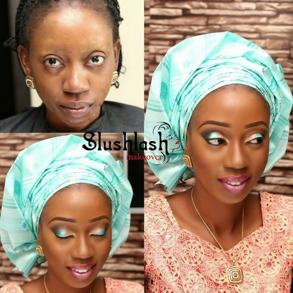 LoveweddingsNG Before meets After - Slushlash Makeovers