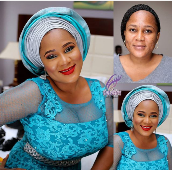 LoveweddingsNG Before meets After - Tints & Ties Makeup1