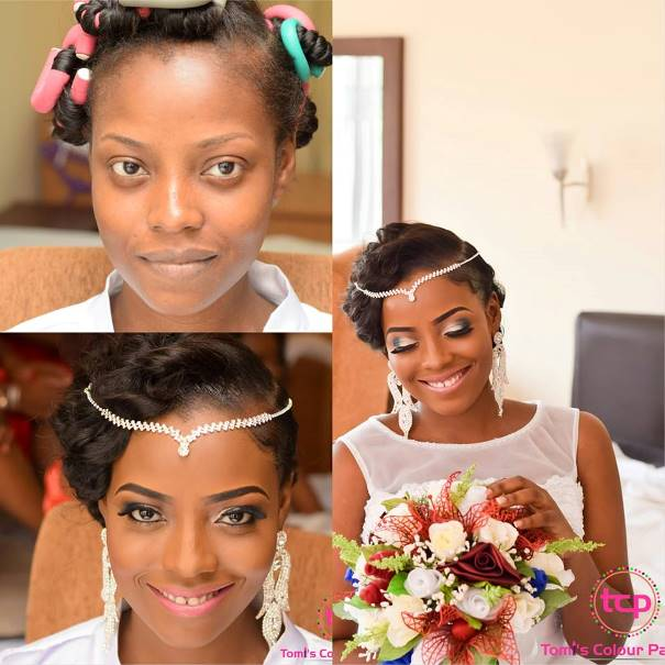 LoveweddingsNG Before meets After - Tomis Colour Pavilion