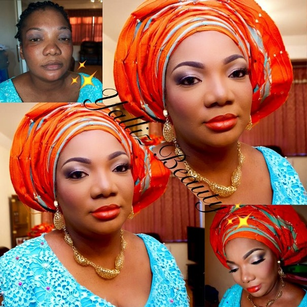 LoveweddingsNG Before meets After - Yalliz Beauty