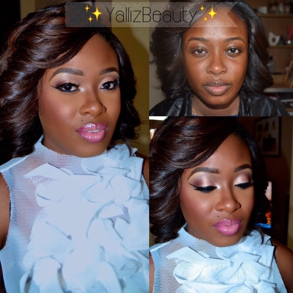 LoveweddingsNG Before meets After - Yalliz Beauty3