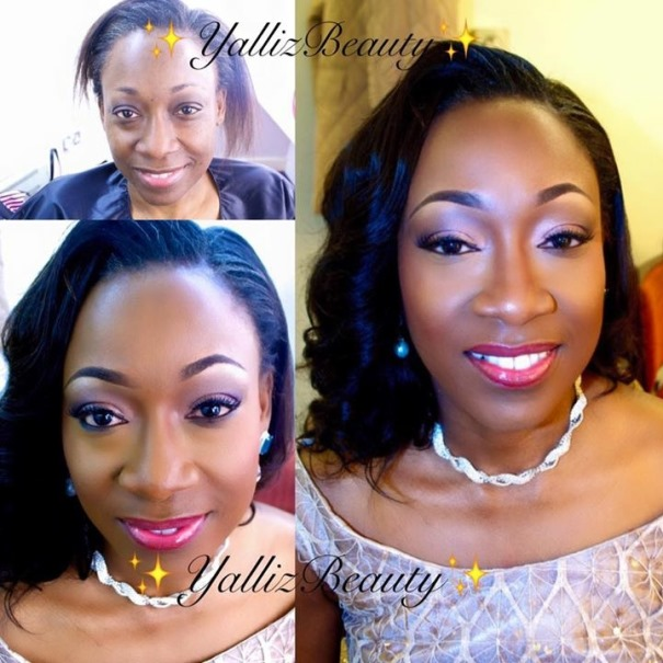 LoveweddingsNG Before meets After - Yalliz Beauty4