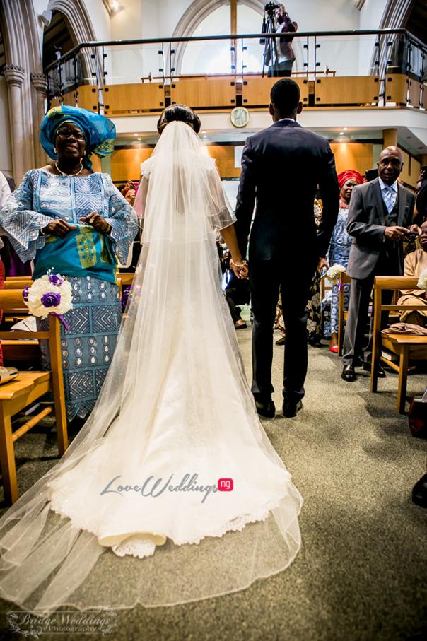 LoveweddingsNG James & Georgina's White Wedding Bridge Weddings23