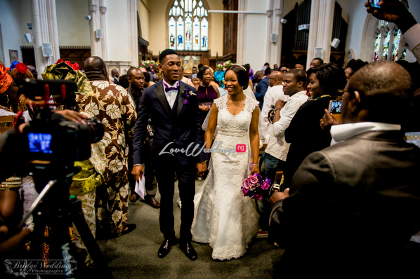LoveweddingsNG James & Georgina's White Wedding Bridge Weddings24