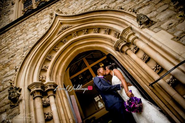 LoveweddingsNG James & Georgina's White Wedding Bridge Weddings25