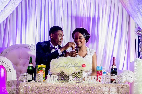 LoveweddingsNG James & Georgina's White Wedding Bridge Weddings40