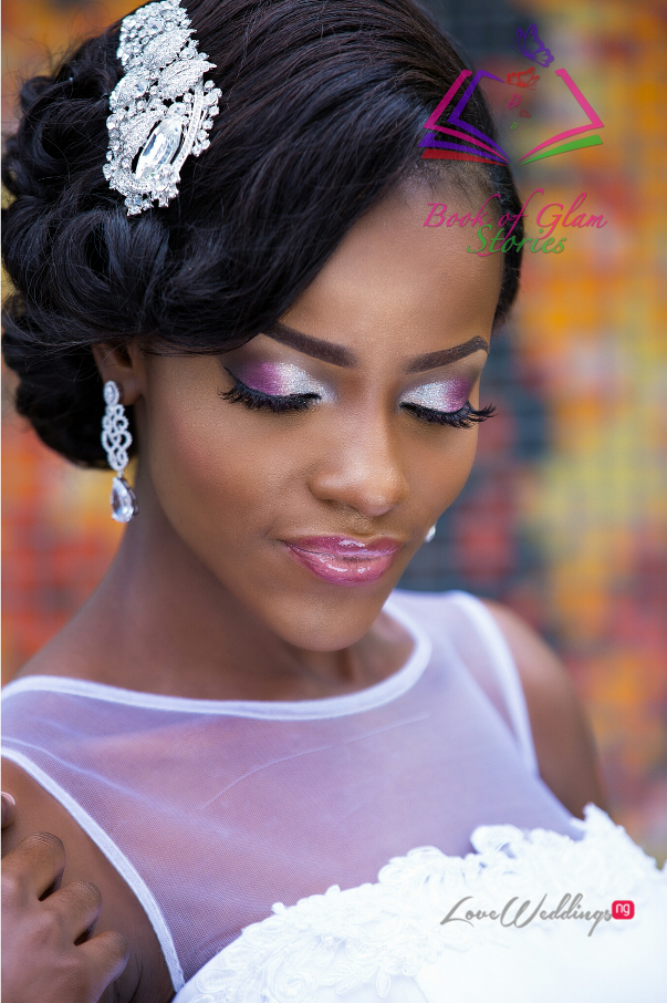 LoveweddingsNG Nigerian Bridal Makeup Inspiration - Book of Glam Stories6