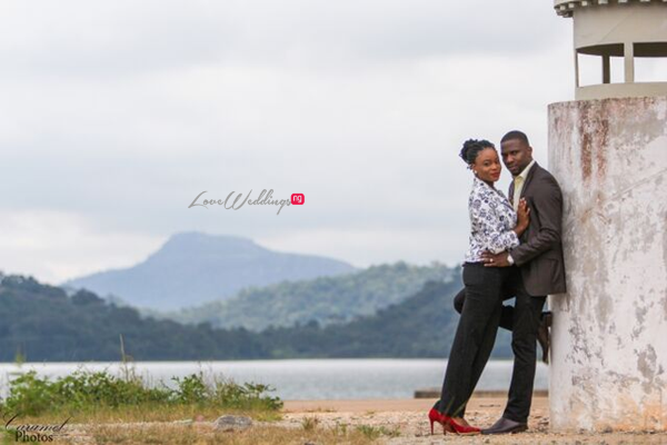 LoveweddingsNG Nigerian Pre Wedding Shoot Location - Abuja Dam Caramel Photos2