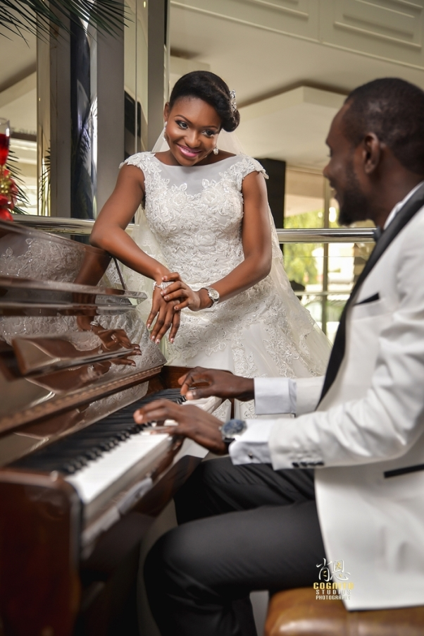 My Big Nigerian Wedding Blessing & George Abuja Wedding - LoveweddingsNG23