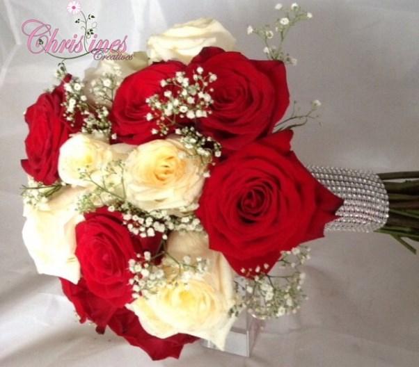 Nigerian Bridal Bouquet Christines Creatives LoveweddingsNG