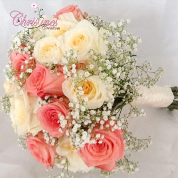 Nigerian Bridal Bouquet Christines Creatives LoveweddingsNG2