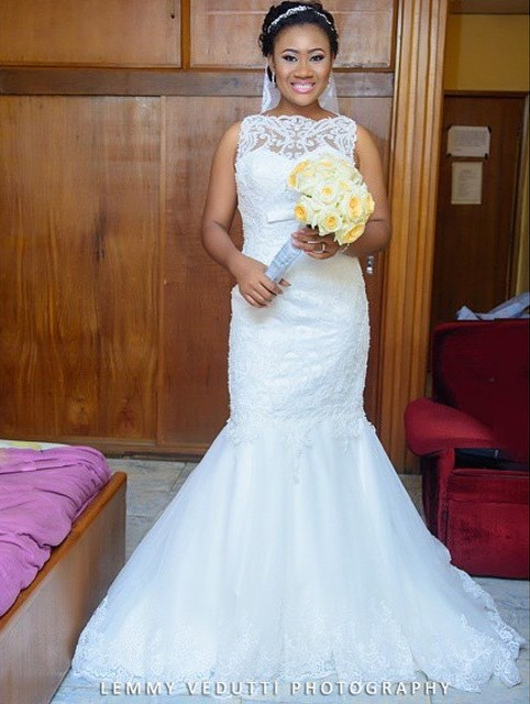 Nigerian Bridal Bouquet Ferns and Blooms LoveweddingsNG