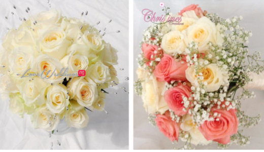 Nigerian Bridal Bouquet Lovebug NG LoveweddingsNG FEAT