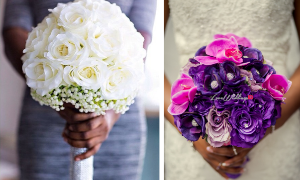 Nigerian Bridal Bouquet - LoveweddingsNG