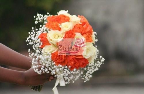 Nigerian Bridal Bouquet Pretty Fabulous LoveweddingsNG1