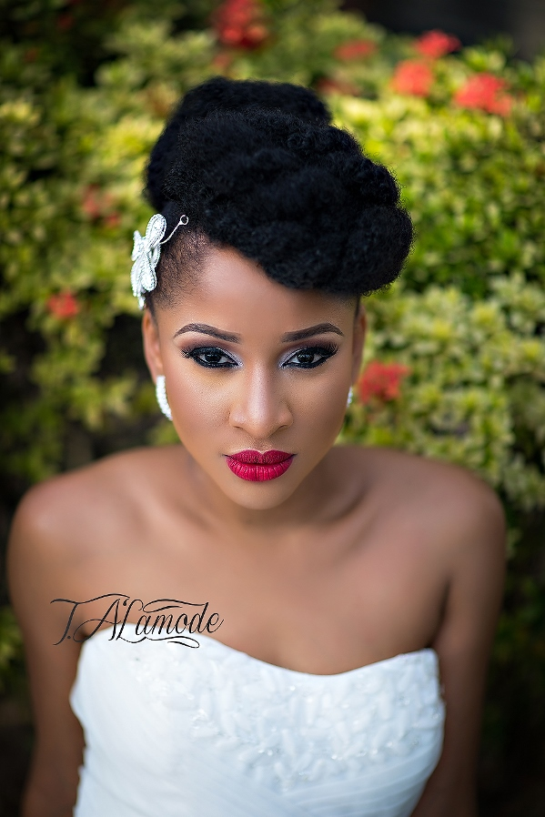 Nigerian Bridal Makeup TAlaMode Makeup LoveweddingsNG - Adesua Etomi 2