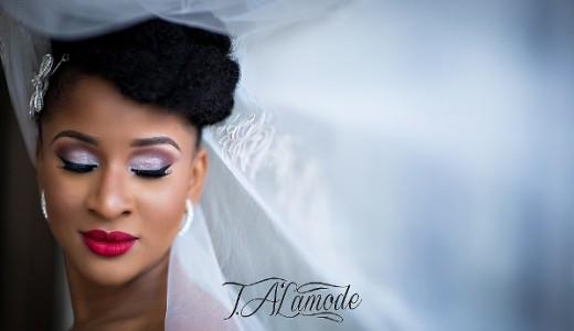 Nigerian Bridal Makeup TAlaMode Makeup LoveweddingsNG - Adesua Etomi 3