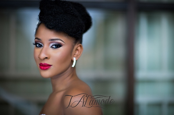 Nigerian Bridal Makeup TAlaMode Makeup LoveweddingsNG - Adesua Etomi 7