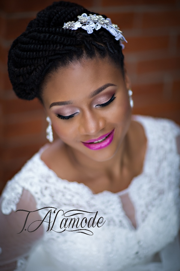 Nigerian Bridal Makeup TAlaMode Makeup LoveweddingsNG2