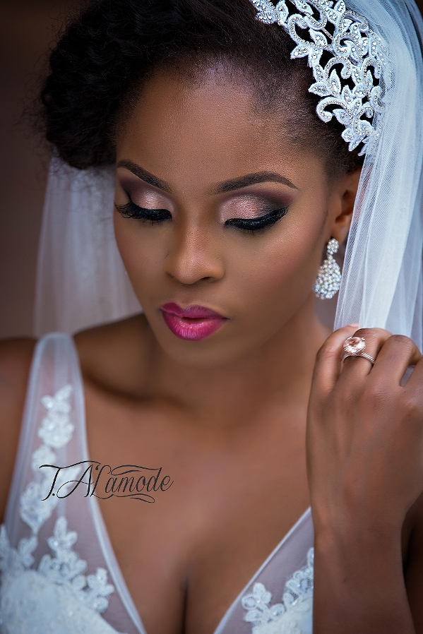 Nigerian Bridal Makeup TAlaMode Makeup LoveweddingsNG9