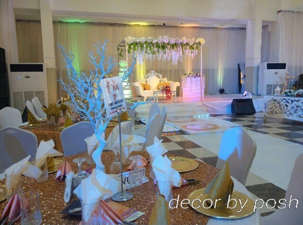 Nigerian Wedding Decor LoveweddingsNG Posh Event Solutions4