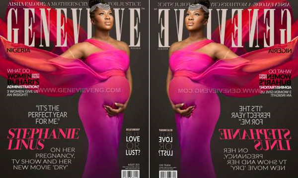 Stephanie Okereke Linus Genevieve Magazine LoveweddingsNG feat2
