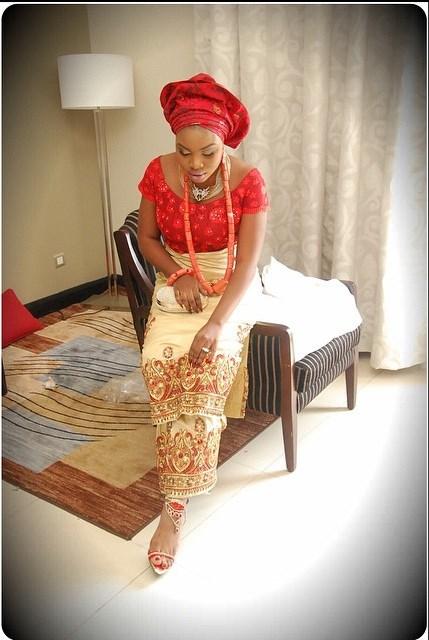 Tobor Esiri & Victor Akinyooye Traditional Wedding LoveweddingsNG9