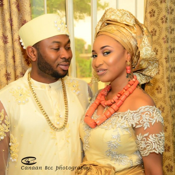 Tonto Dikeh Oladunni Churchill Traditional Wedding - LoveweddingsNG2