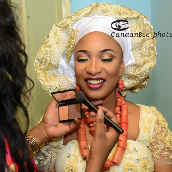 Tonto Dikeh Oladunni Churchill Traditional Wedding - LoveweddingsNG5