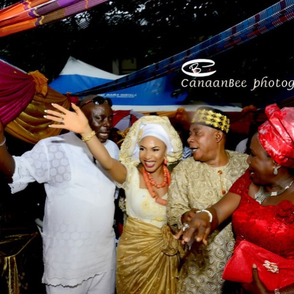Tonto Dikeh Oladunni Churchill Traditional Wedding - LoveweddingsNG7