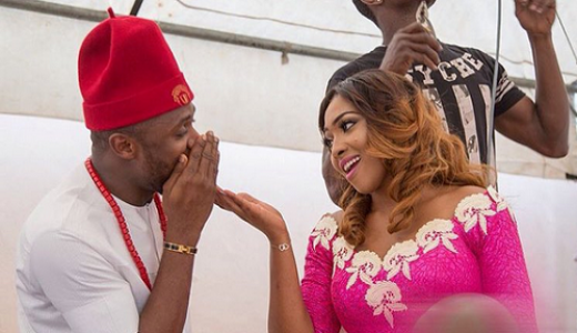 Ubi Franklin and Lilian Esoro Introduction - LoveweddingsNG1