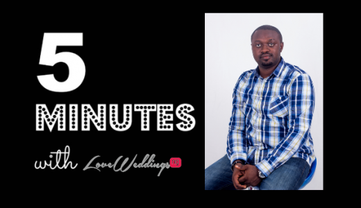 5 minutes with Lanre Esho Films LoveweddingsNG