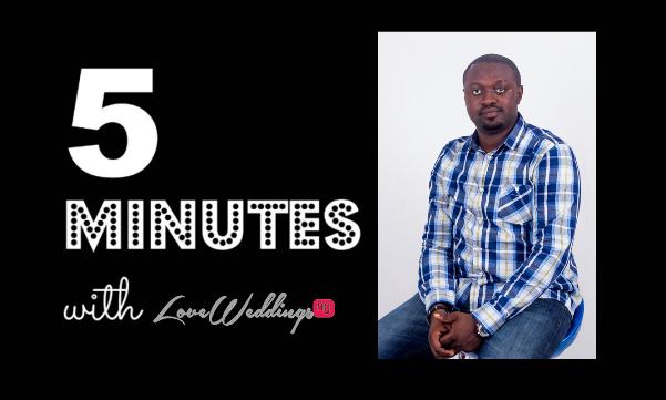 5 minutes with Lanre Esho Films LoveweddingsNG