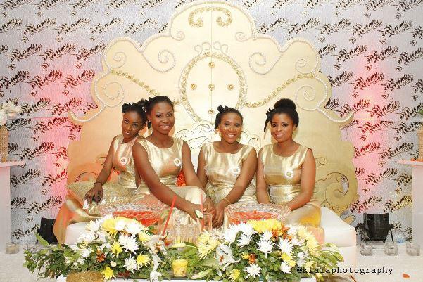Emmanuel & Noye My Big Nigerian Wedding Lagos - LoveweddingsNG hostesses