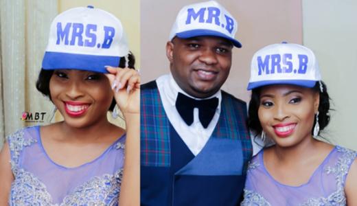 Lara George's Brother - Ademola Bajomo weds Nnenna LoveweddingsNG11