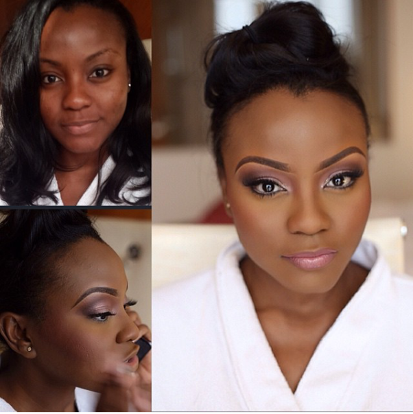 LoveweddingsNG Before and After Beauty by Queen